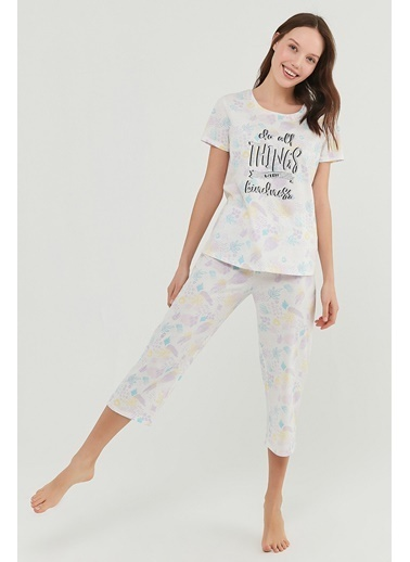 Penti Kadın Çok Renkli Kindne Ka Pijama Takım PN5E3RHA21IY Renkli